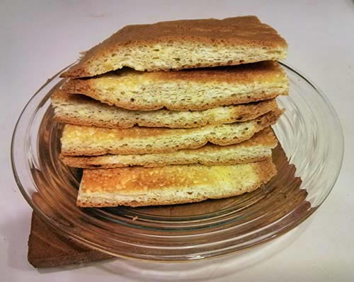 Low-Carb High-Fat Sliced Bread